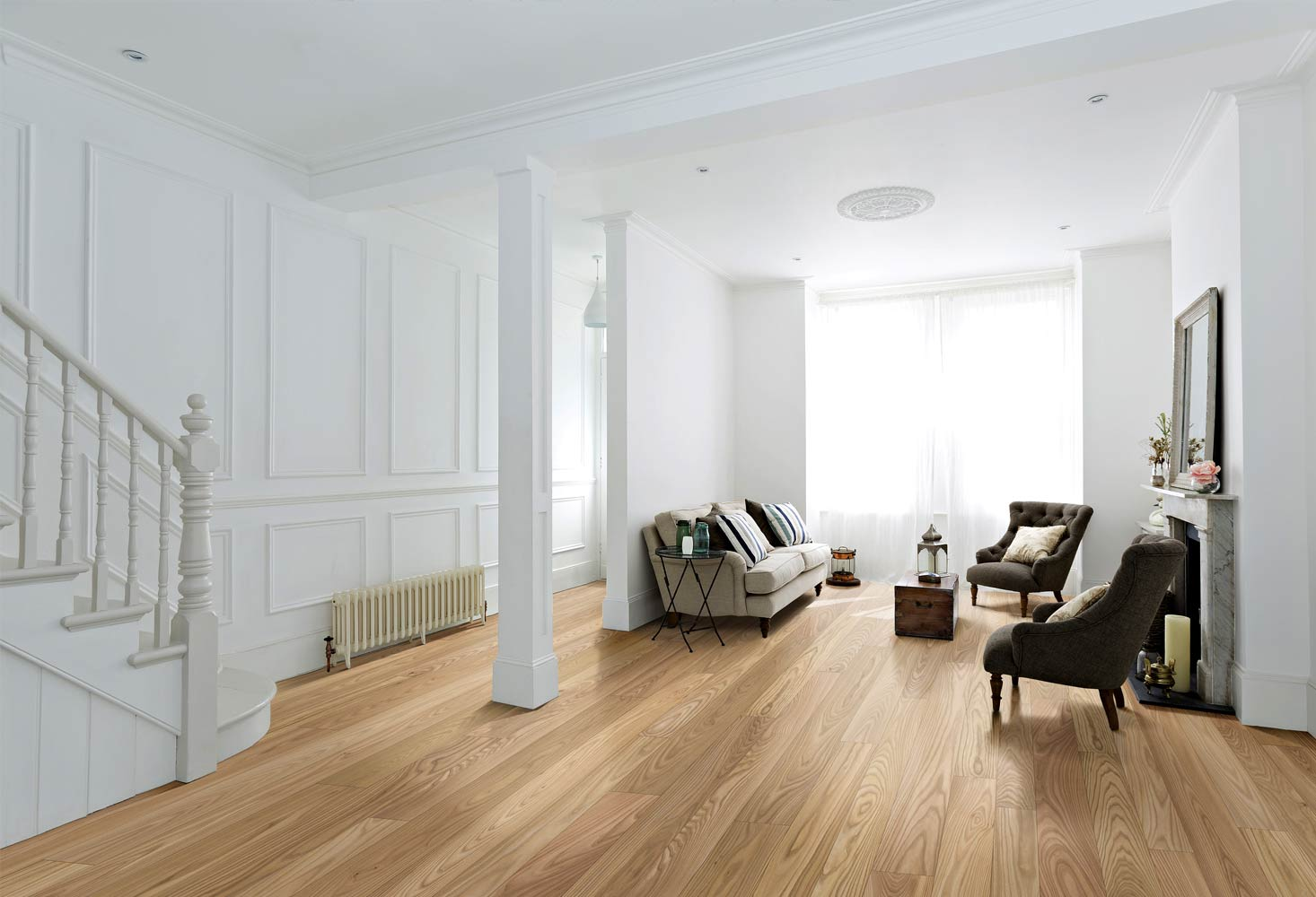 Pavimento prefinito in legno a tre strati fratelli - Bagno pavimento legno ...