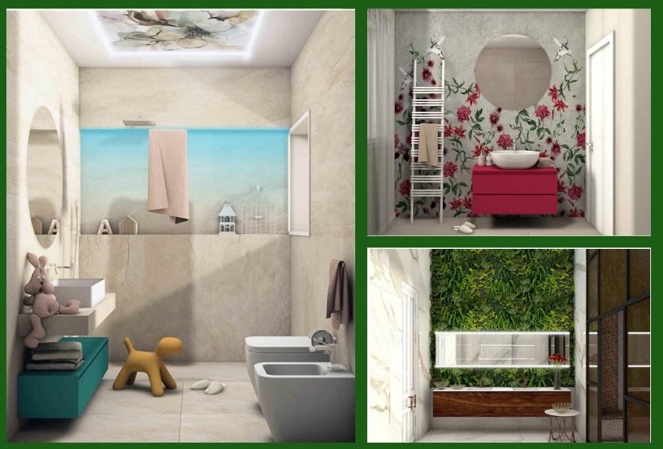 Bagni moderni progetti di annalisa fratelli pellizzari for Progetti moderni