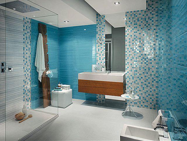 Il bagno secondo le teorie del feng shui pellizzari for Peinture carrelage bleu turquoise