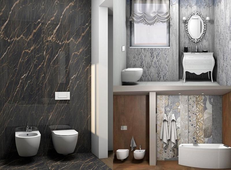 Progetti di bagni portfolio di guido fratelli pellizzari for Modelli di bagni moderni