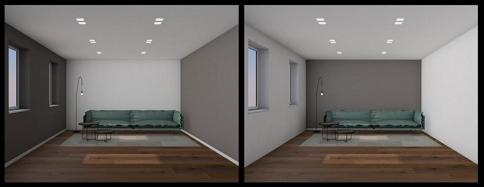 Tinteggiare le pareti interne della casa fratelli pellizzari for Pareti colorate casa moderna