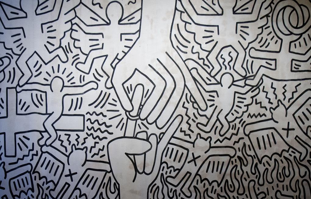 piastrelle ceramica keith haring a vicenza fratelli