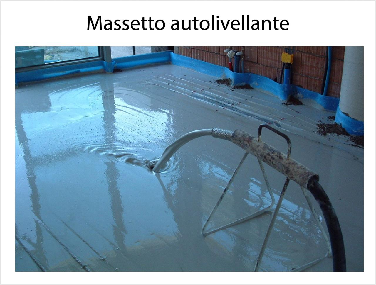 Massetto autolivellante