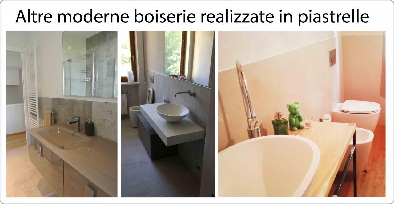 Boiserie Bagno Moderno : Boiserie in piastrelle moderne a cornedo vicentino fratelli