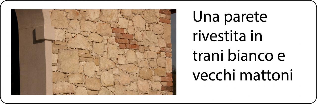 Fabulous esterno di una casa a vicenza in sasso chiaro with pareti in mattoni per interni - Cornici finestre in mattoni ...