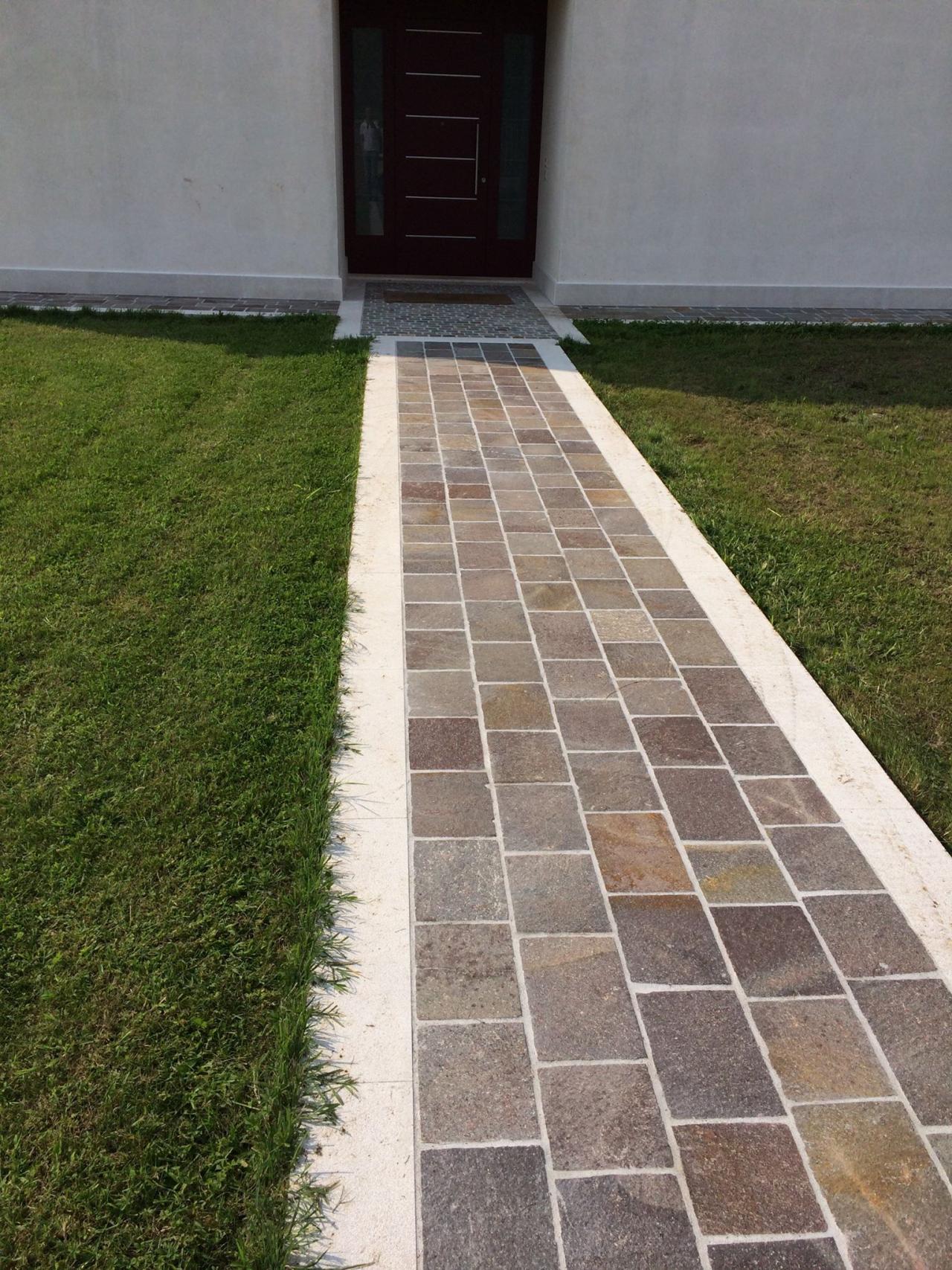 Pavimenti esterni fratelli pellizzari for Pavimento esterno in porfido