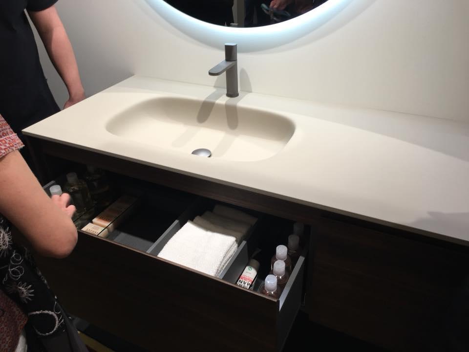 Arredamento in Corian per il bagno - showroom arredobagno a Vicenza ...