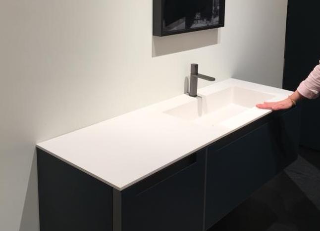 Arredamento in Corian per il bagno | Fratelli Pellizzari