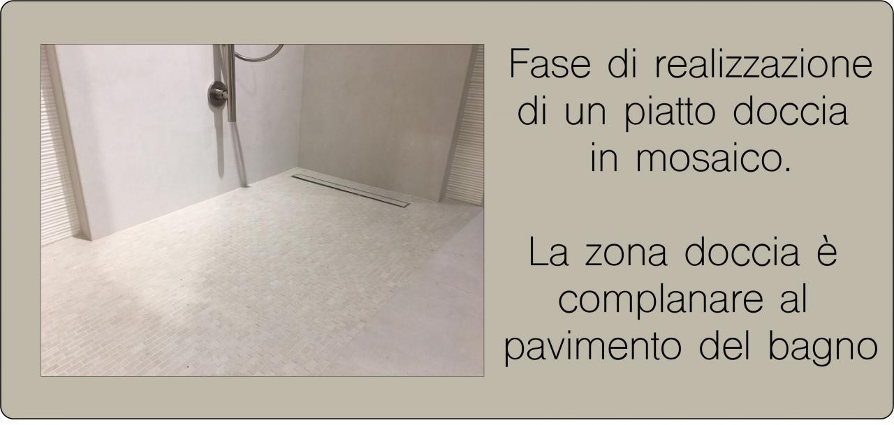 Doccia aperta walk in vantaggi e problemi fratelli pellizzari - Piatto doccia piastrelle ...