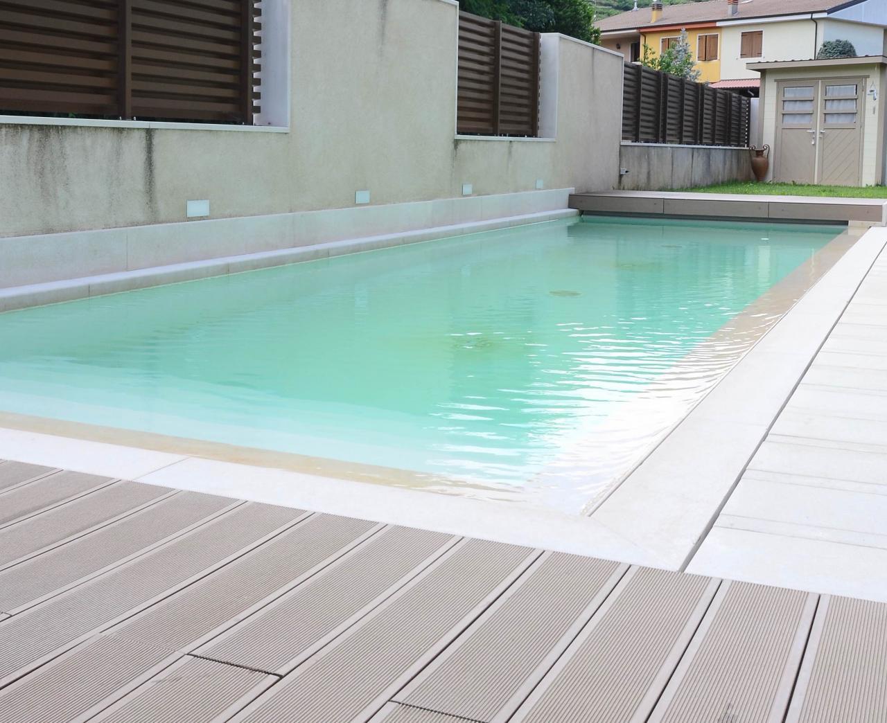 Pavimento In Pvc Effetto Legno pavimento decking wpc legno plastico | fratelli pellizzari