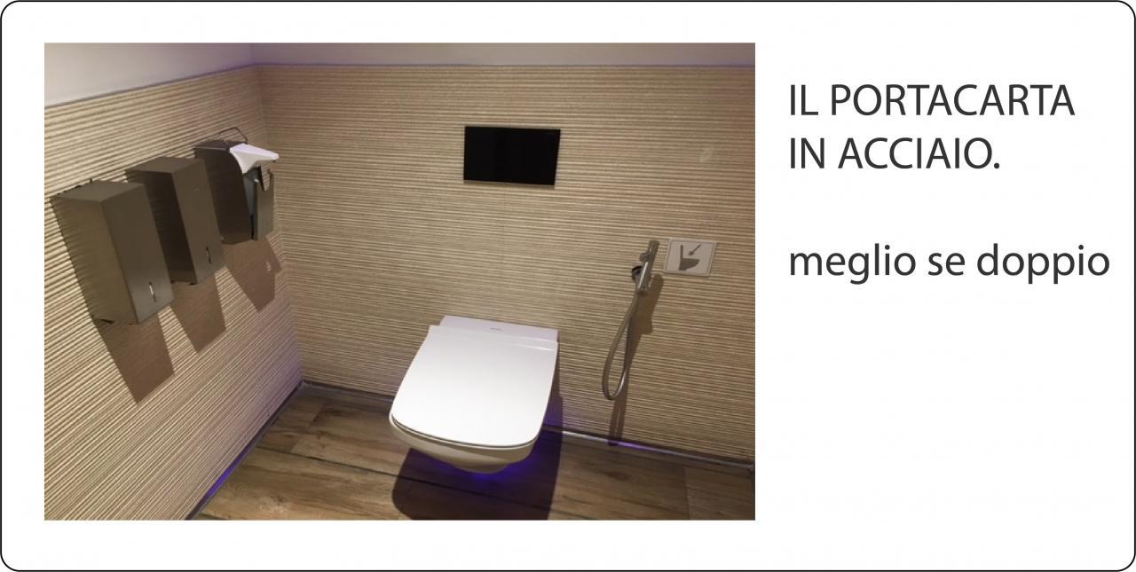 Quali accessori per il bagno pubblico di un bar ristorante