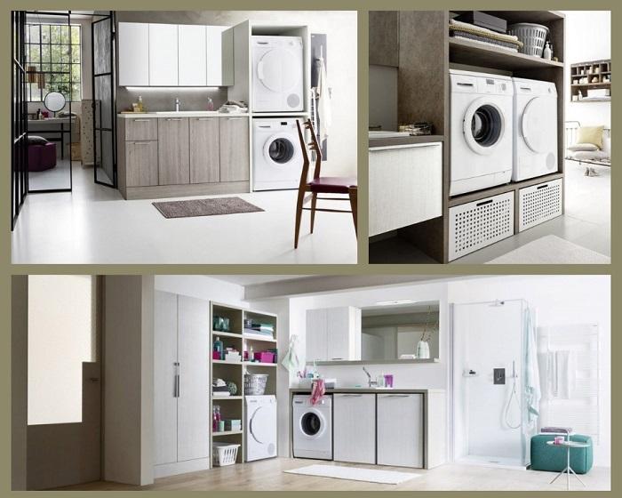 Arredi Lavanderia Bagno : Bagno lavanderia moderno fratelli pellizzari
