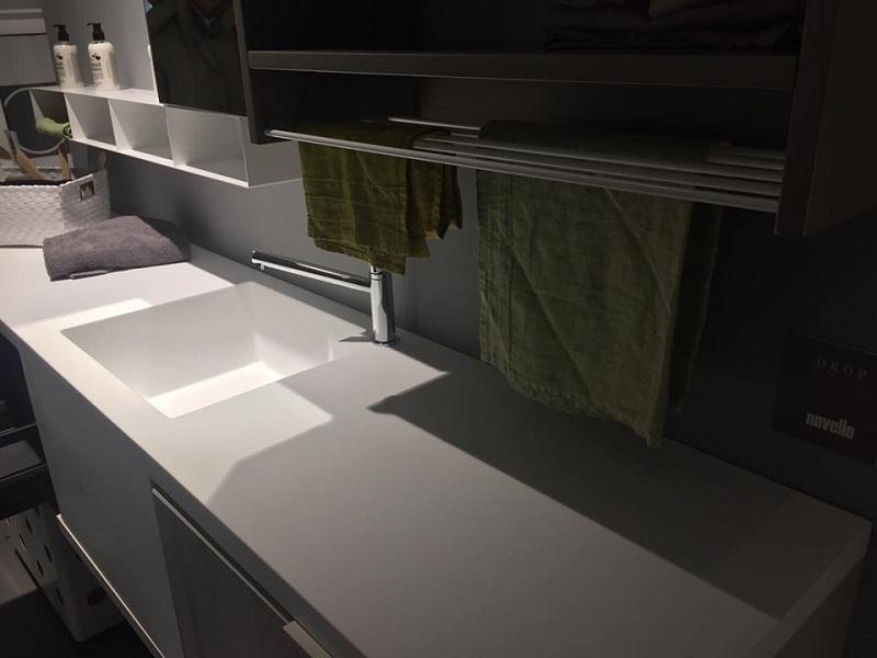 Prima dopo come sfruttare lo spazio in bagno con angolo