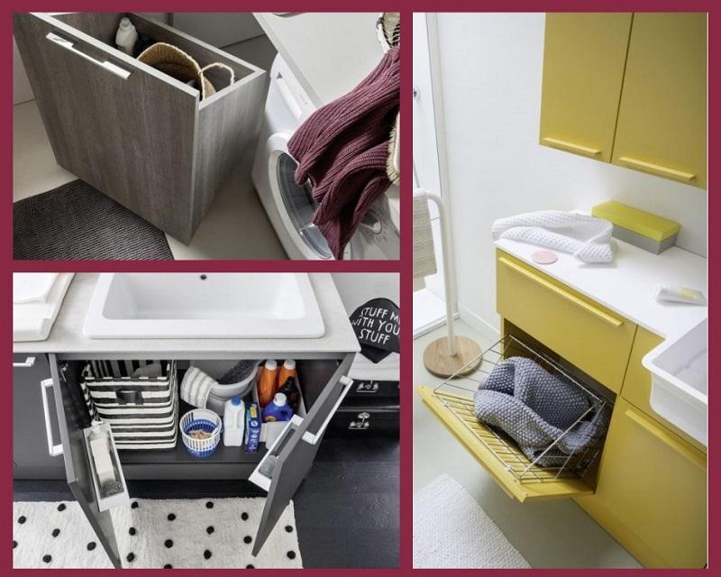 Bagno Con Zona Lavanderia : Bagno lavanderia moderno fratelli pellizzari