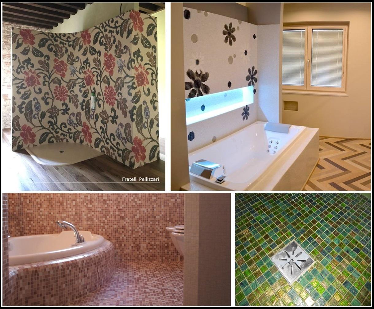 Docce in mosaico amazing arredamento bagno ceramiche mosaici