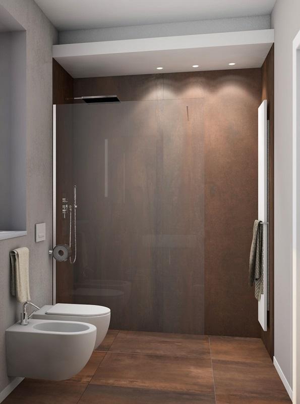 Forum pavimento corten bagno mansardato for Mattonelle per bagno