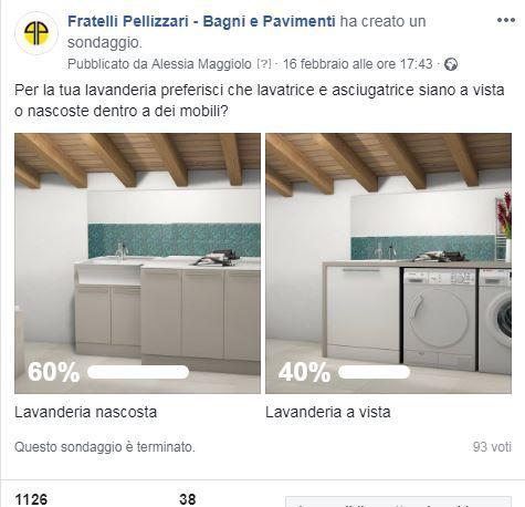 Bagno lavanderia moderno | Fratelli Pellizzari
