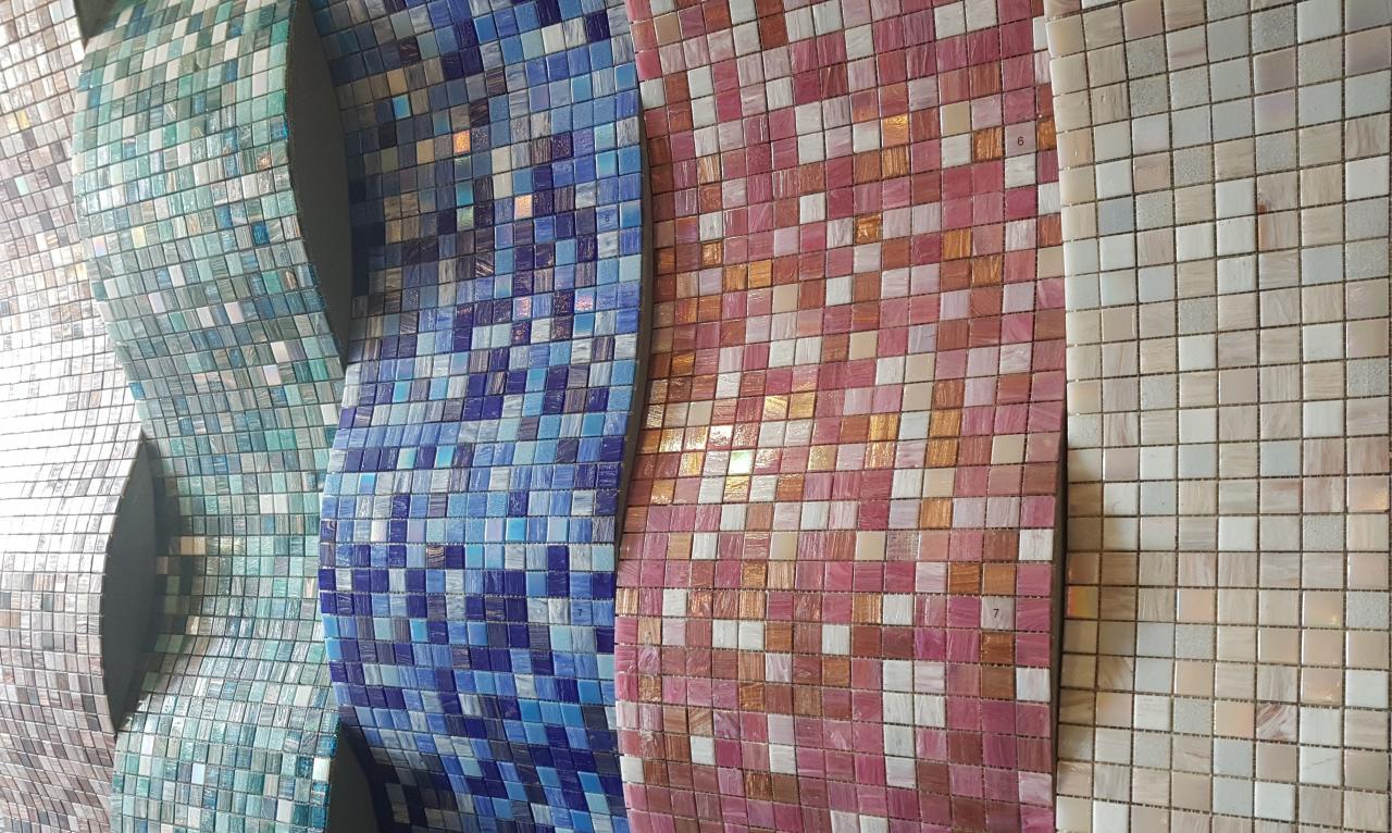Rivestimenti bagno mosaico bisazza superfici design pavimenti e