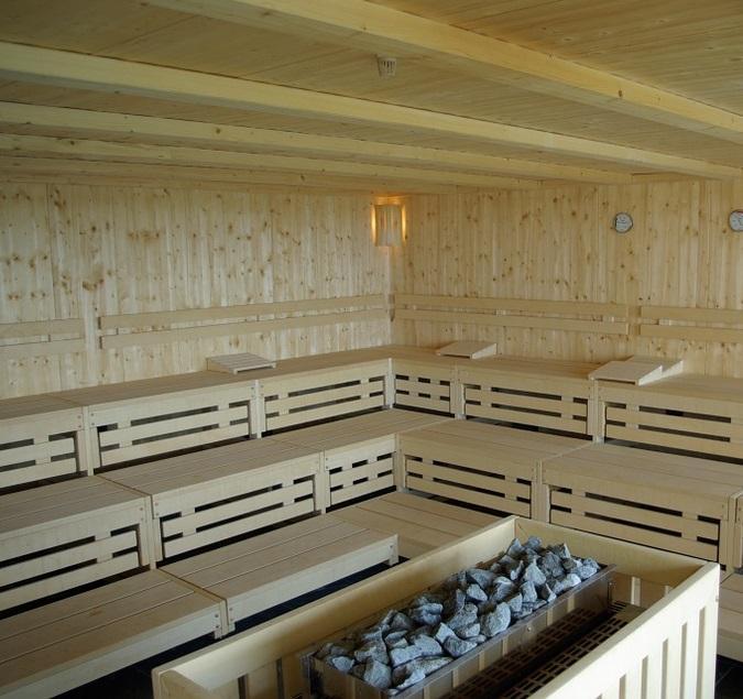 sauna finlandese in casa
