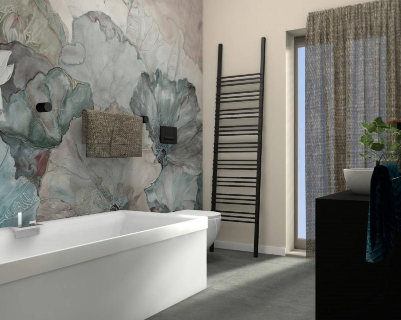 Bagno carta da parati vicenza fratelli pellizzari for Carta da parati 3d bagno