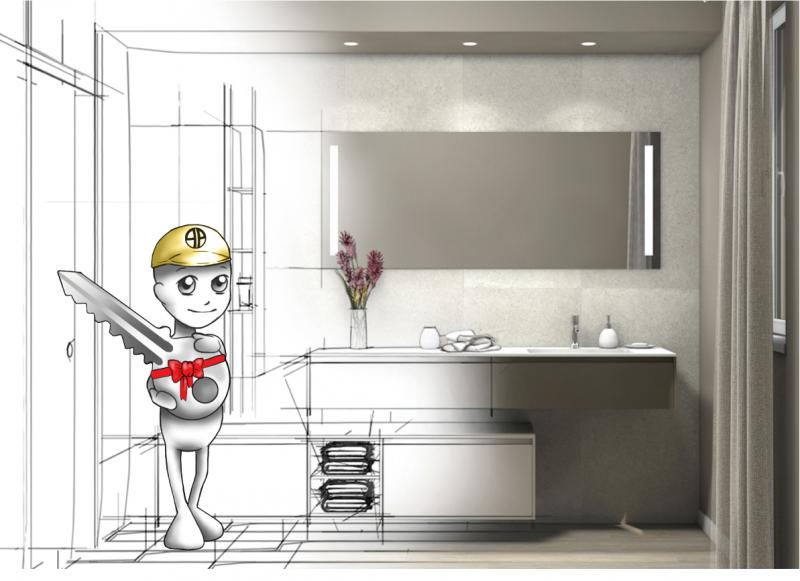 Restyling bagno chiavi in mano a vicenza fratelli - Bagno chiavi in mano ...