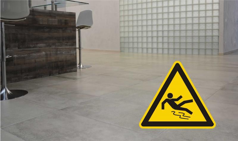 Piastrelle ceramica antiscivolo pericoli test e normative
