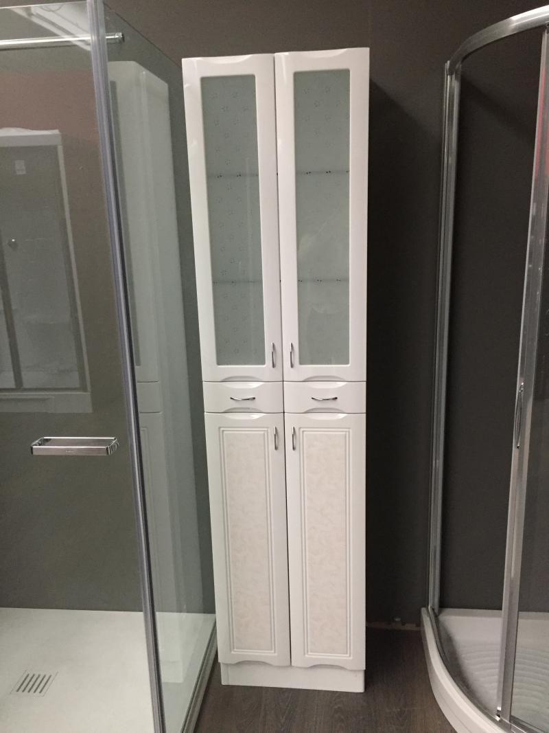 Colonna bagno bianco lucido occasione fratelli pellizzari for Colonna mobile bagno