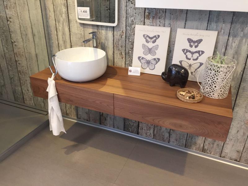 Mobile bagno in legno artigianale - prezzo occasione a Vicenza ...