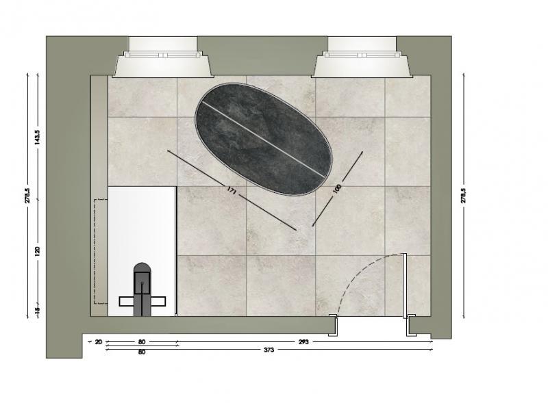 Grandi lastre per un bagno moderno a verona fratelli pellizzari - Progetto bagno 3d gratis ...