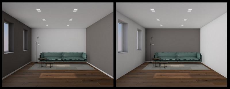 tinteggiare gli interni di casa: come cambia la percezione degli