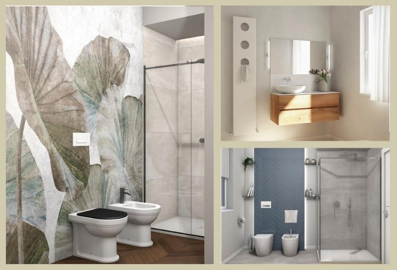 Progettare il bagno lo stile di giulia fratelli pellizzari - Progettare il bagno ...