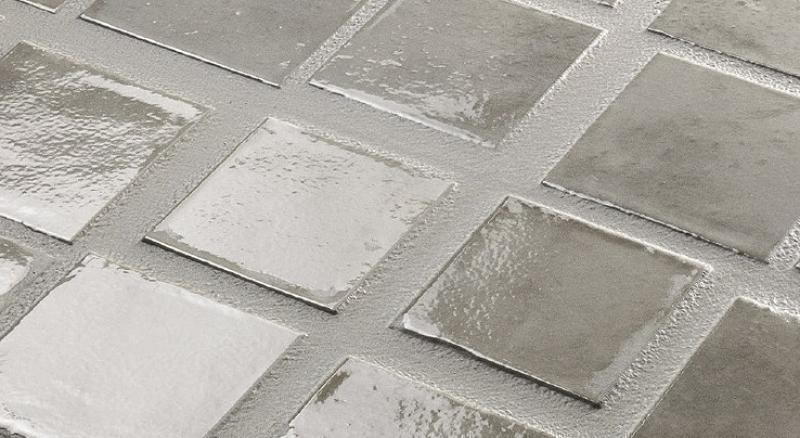 Piastrelle da rivestimento grigio lucido outlet vicenza fratelli pellizzari - Outlet piastrelle bagno ...