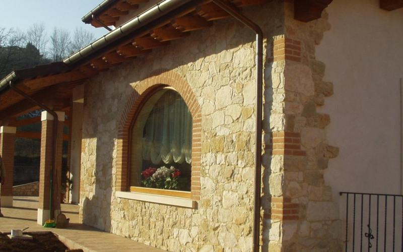 Exterior stone wall cladding Vicenza