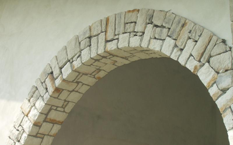 Arco in pietra per interni 28 images arredamenti di - Arco interno casa ...