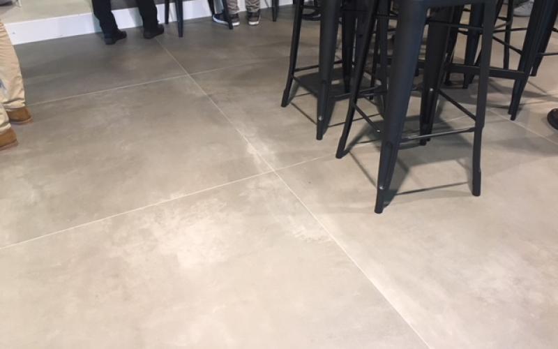 Pavimento per bar fratelli pellizzari