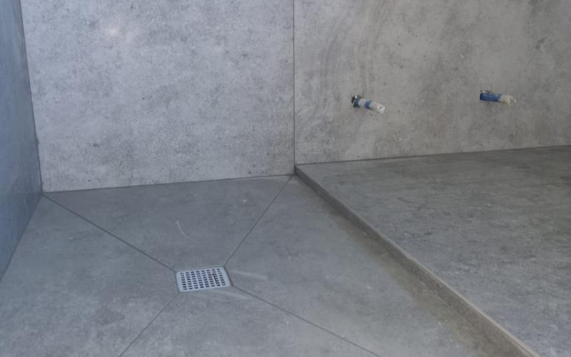 Piatto doccia in piastrelle come realizzarlo fratelli pellizzari