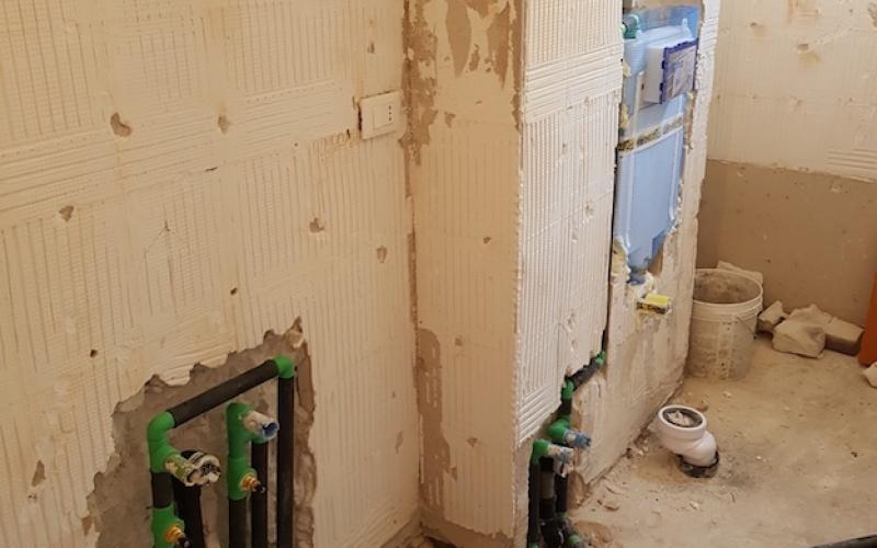 Trasformare Lavanderia In Bagno : Rifacimento bagno a vicenza fratelli pellizzari