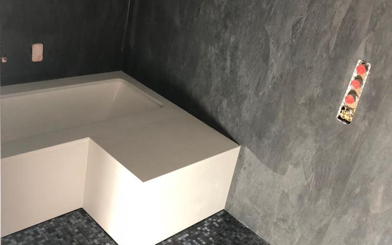 Rivestimento Vasca Da Bagno Angolare : Vasca da bagno su misura bagno privato a vicenza fratelli
