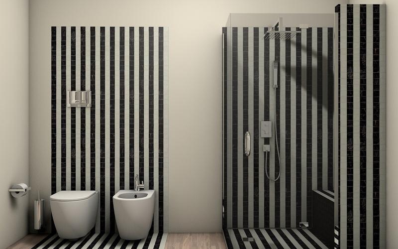 Bagno Legno E Bianco : Stili bagno guida fotografica per scegliere arredi e rivestimenti