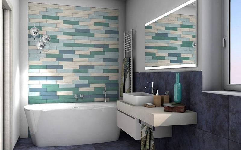 Cose di casa bagni con decorazioni pavimento rifacimento bagno fai