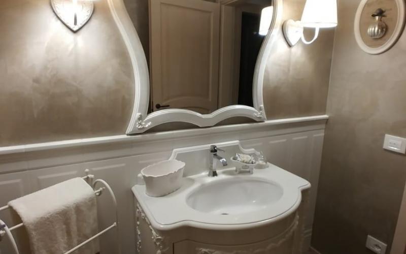 Boiserie Bagno Moderno : Boiserie in ceramica nel bagno moderno fratelli pellizzari