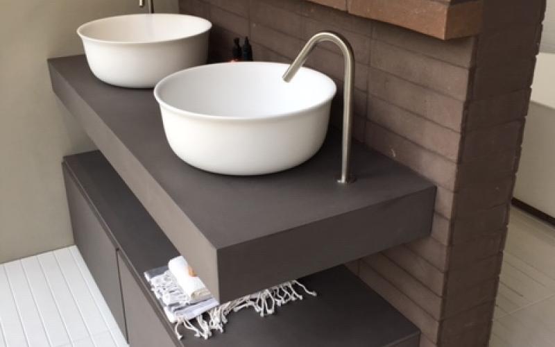 Lavello Bagno Con Mobile : Il lavabo doppio in bagno fratelli pellizzari