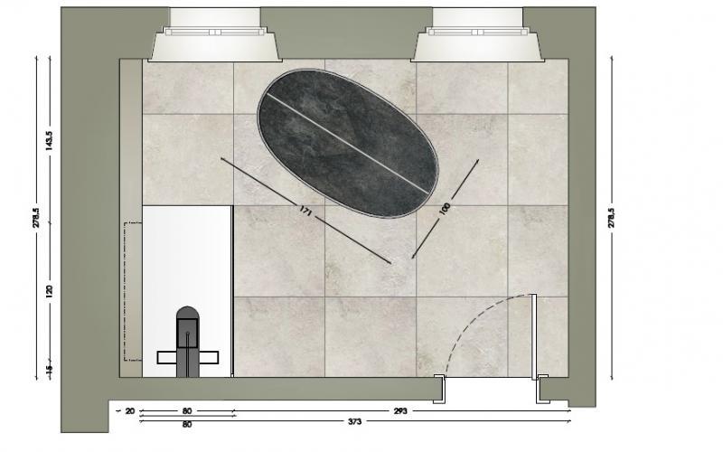Grandi Lastre Per Un Bagno Moderno A Verona Fratelli
