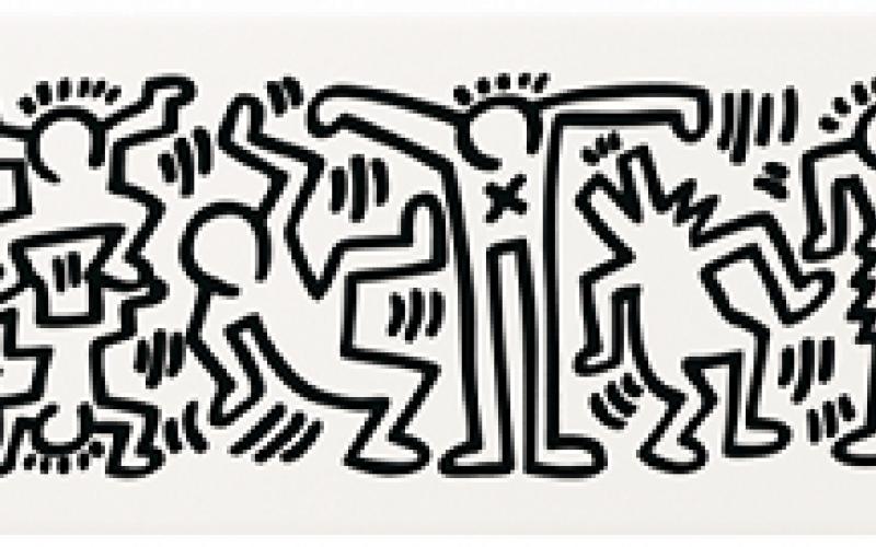 Piastrelle ceramica keith haring a vicenza fratelli pellizzari