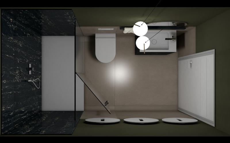 Progetti bagno lo stile di yasmine fratelli pellizzari - Progettare un bagno piccolo ...