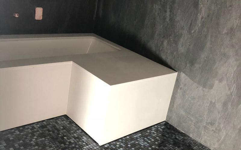 Vasca Da Bagno Rivestita : Vasca da bagno su misura bagno privato a vicenza fratelli pellizzari