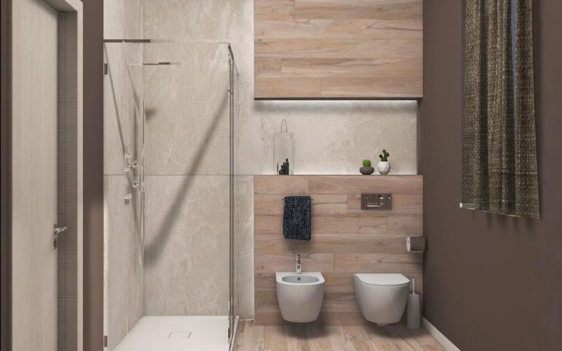 Progetti e renders di bagni e pavimenti | Fratelli Pellizzari