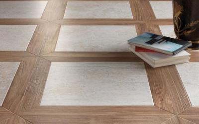 Rovere sabbia pavimenti effetto legno in gres porcellanato