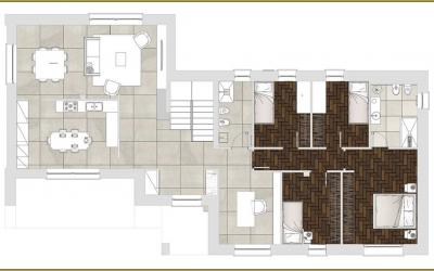 Resina kerakoll per pavimenti e rivestimenti a vicenza for Casa moderna vicenza