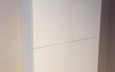 Semicolonna bagno door